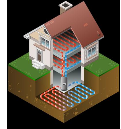waterless direct exchange geothermal system buschurs refrigeration. Black Bedroom Furniture Sets. Home Design Ideas