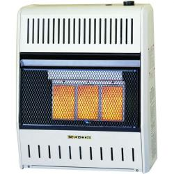 Vent-Free Gas Space Heaters Infrared Heaters Model: 3 Plaque